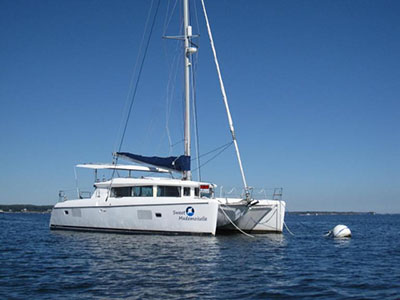 Catamaran for Sale Lagoon 420  in Bridgeport Connecticut (CT)  SWEET MADEMOISELLE Thumbnail for Listing Preowned Sail