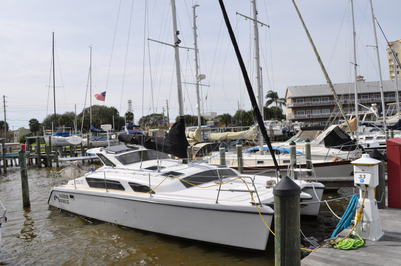 SOLD Gemini 105Mc  in St. Augustine Florida (FL)  HARBOR HOME III  Preowned Sail