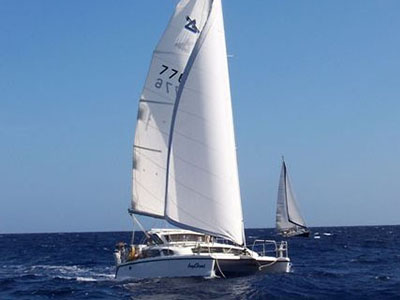 Catamarans ANGELHEART, Manufacturer: PERFORMANCE CRUISING, Model Year: 2002, Length: 33ft, Model: Gemini 105Mc, Condition: USED, Listing Status: Acceptance of Vessel, Price: USD 69000