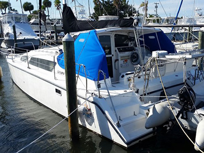 Catamarans ADITI, Manufacturer: PERFORMANCE CRUISING, Model Year: 2005, Length: 33ft, Model: Gemini 105Mc, Condition: USED, Listing Status: Catamaran for Sale, Price: USD 108000