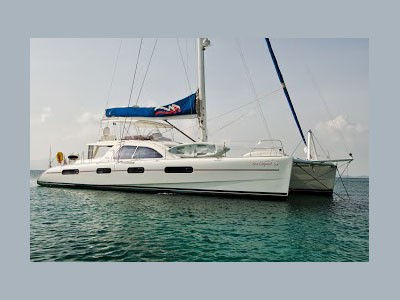 SOLD Leopard 62  in Tortola British Virgin Islands SEA LEOPARD  Preowned Sail
