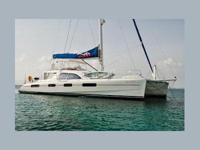 Used Sail Catamaran for Sale 2004 Leopard 62