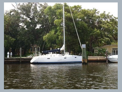 SOLD Oceanis 390 Owner's Version  in Fort Lauderdale Florida (FL)  NOBLE AMBITIONS Thumbnail for Listing Preowned Sail