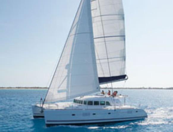 SOLD Lagoon 500  in Tortola British Virgin Islands ARAUSIO  Preowned Sail