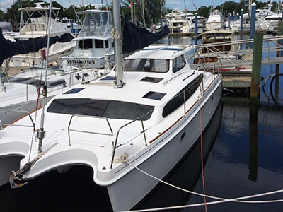Catamaran for Sale Legacy 35  in Fort Lauderdale Florida (FL)  GUERO  Preowned Sail