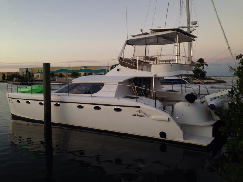 Catamarans LUX AETERNA, Manufacturer: CHARTER CATS SA, Model Year: 2003, Length: 45ft, Model: Prowler 45, Condition: Preowned, Listing Status: Catamaran for Sale, Price: USD 278000