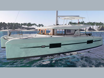 SOLD Lagoon 42  in Bordeaux France SUNNY SKYE Thumbnail for Listing New Sail