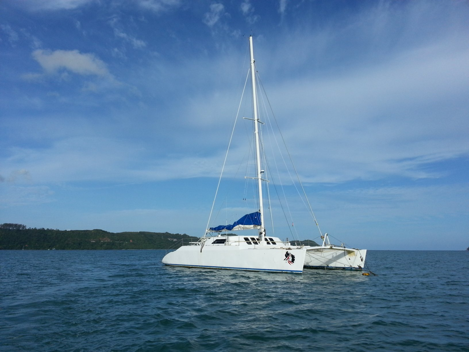 Used Sail Catamaran for Sale 2004 Custom 62