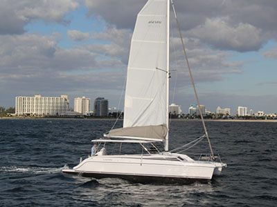 Catamarans DEMO HULL 001, Manufacturer: GEMINI CATAMARANS, Model Year: 2016, Length: 38ft, Model: Freestyle 37, Condition: New, Listing Status: Catamaran for Sale, Price: USD 199999