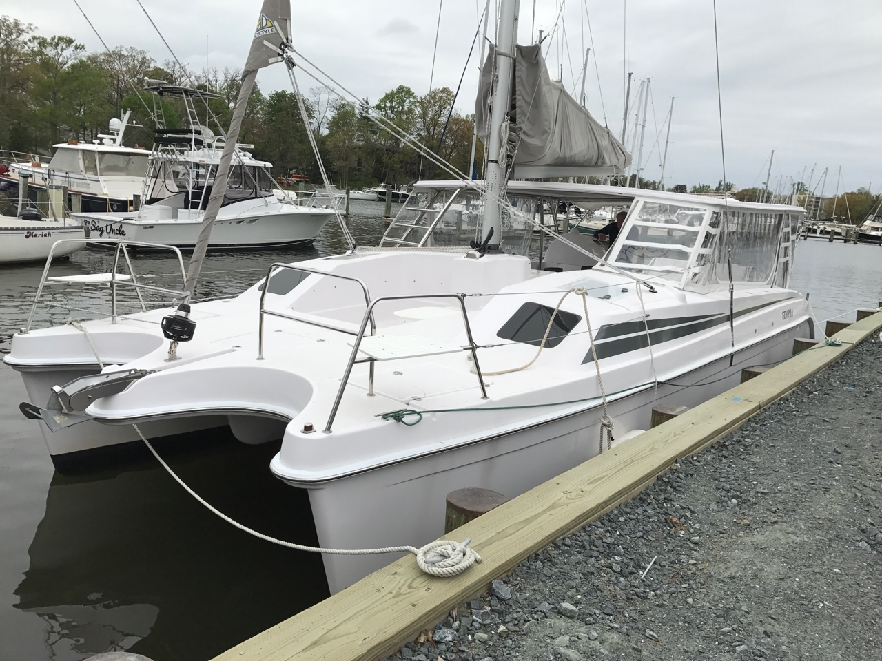 Preowned Sail Catamarans for Sale 2016 Freestyle 37