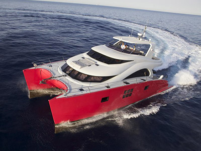 Launched Power Catamaran for Sale  60 Sunreef Power