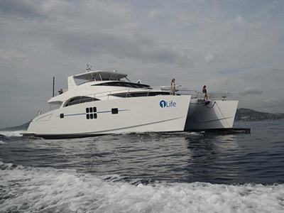 Launched Power Catamarans for Sale  70 Sunreef Power