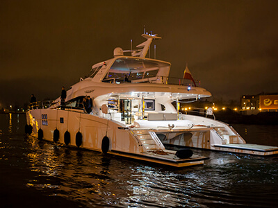 Launched 70 Sunreef Power  in Gdansk Poland BOUNTY  Launched Power
