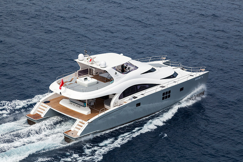 Launched 70 Sunreef Power  in Gdansk Poland SKYLARK  Launched Power