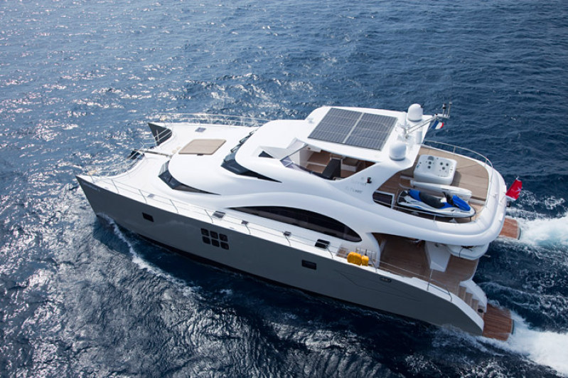 Launched 70 Sunreef Power  in California (CA)  DAMRAK II  Launched Power