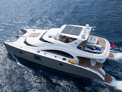 Launched Power Catamaran for Sale  70 Sunreef Power