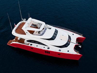 Power Catamarans for Sale  70 Sunreef Power
