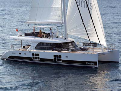 Launched Sail Catamaran for Sale  60 Sunreef Loft