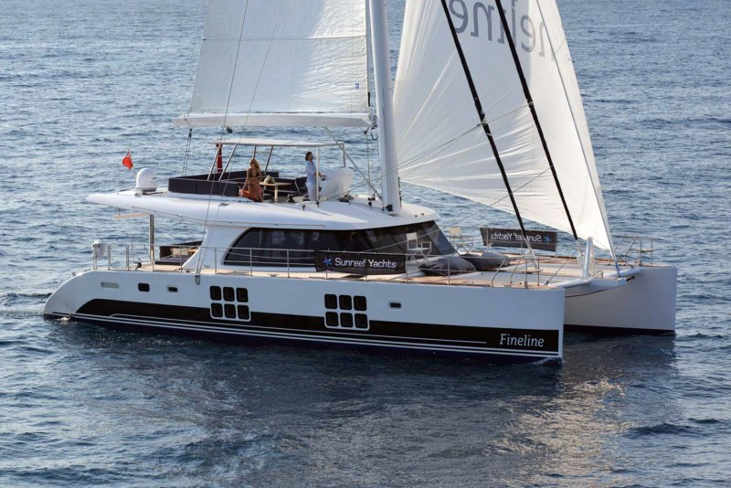 Launched Sail Catamaran for Sale  60 Sunreef Loft