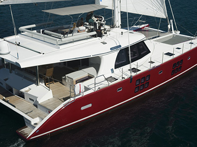 Launched Sail Catamaran for Sale  Sunreef 60 Loft