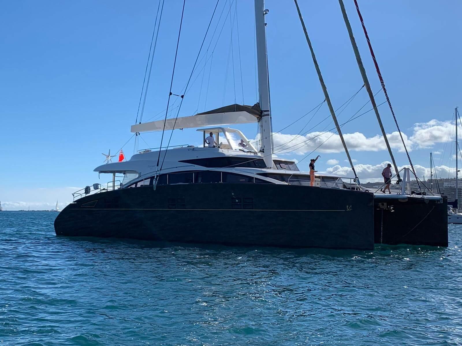 Walkthrough of a Sunreef 82 catamaran
