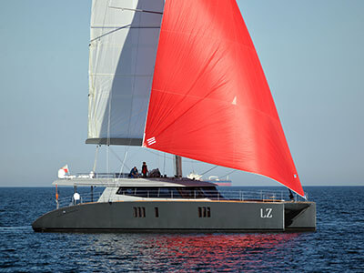 Launched Sunreef 74  in France LUCY Z  Launched Sail