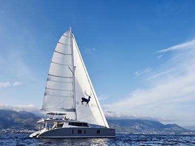 Launched Sunreef 74  in France BLUE DEER  Launched Sail