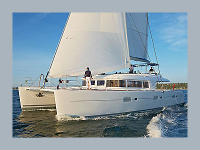 SOLD Lagoon 620   in France BAGHEERA  New Sail