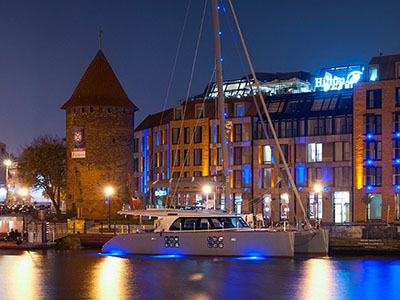 Launched Sunreef 58  in Gdansk Poland CARPE DIEM  Launched Sail