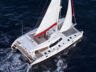 Launched Sail Catamaran for Sale  Sunreef 58