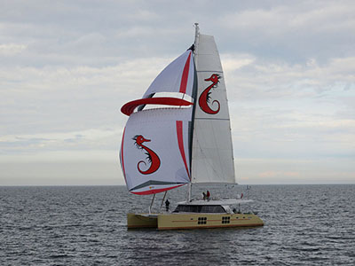 Launched Sunreef 58  in Gdansk Poland SUMMERFIELD  Launched Sail