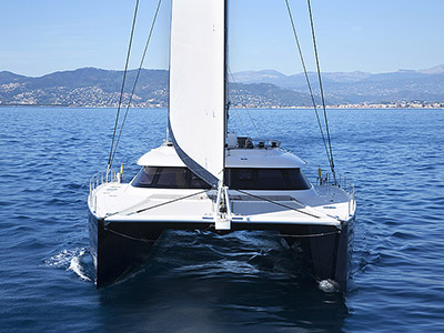 Launched Sail Catamaran for Sale  Sunreef 80 Carbon Line