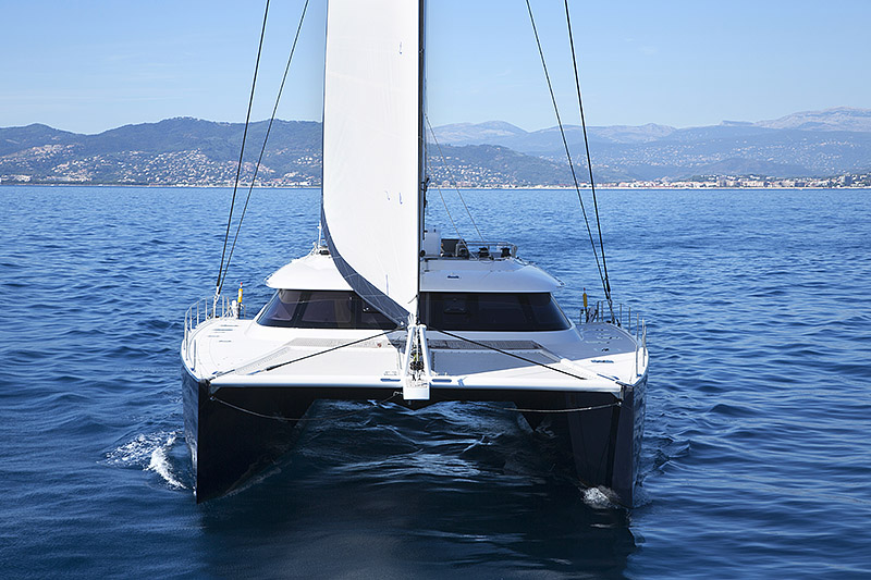 Launched Sail Catamarans for Sale  Sunreef 80 Carbon Line