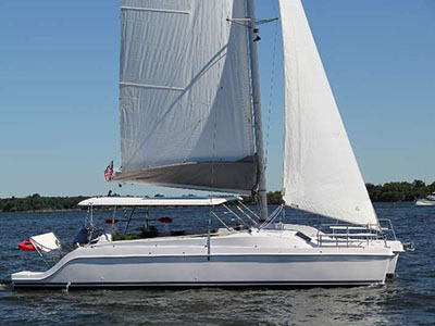 Catamarans HULL 004, Manufacturer: GEMINI CATAMARANS, Model Year: 2017, Length: 38ft, Model: Freestyle 37, Condition: New, Listing Status: Coming Soon, Price: USD 255022