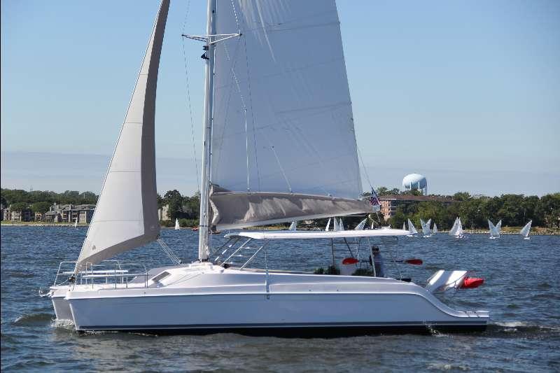 New Sail Catamaran for Sale 2017 Freestyle 37