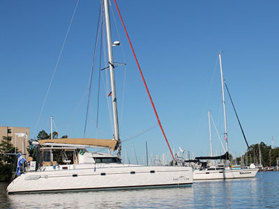 Preowned Sail Catamarans for Sale 1996 Venezia 42