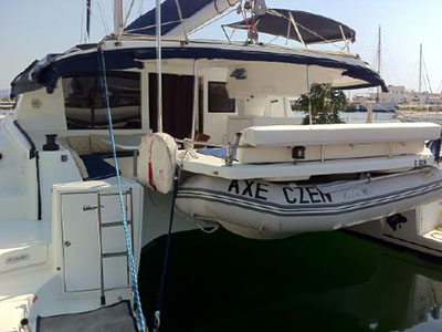 Catamaran for Sale Salina 48  in Trogir Croatia C ZEN Thumbnail for Listing Preowned Sail