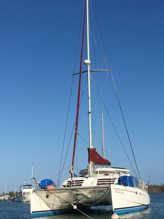 Used Sail Catamarans for Sale  Leopard 43