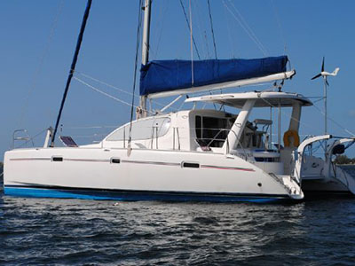 Used Sail Catamarans for Sale 2006 Leopard 40
