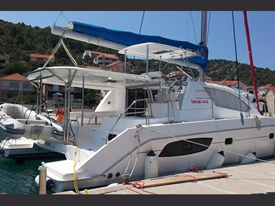 Acceptance of Vessel Leopard 44  in Croatia CASSANDRA  Preowned Sail