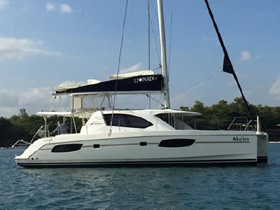 Catamarans ABALICA, Manufacturer: ROBERTSON & CAINE, Model Year: 2013, Length: 43ft, Model: Leopard 44, Condition: Preowned, Listing Status: Catamaran for Sale, Price: EURO 329000
