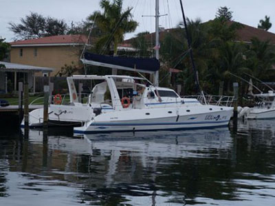 Used Sail Catamaran for Sale 2010 Majectic 530