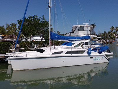 Catamaran for Sale Gemini 105M  in Key Largo Florida (FL)  SUENO TROPICAL Thumbnail for Listing Preowned Sail