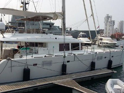 Catamaran for Sale Lagoon 560  in Cartagena Colombia KAPITAN  Preowned Sail