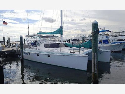 Used Sail Catamarans for Sale 1996 Manta 40