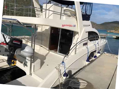 Used Power Catamarans for Sale 2013 Aquila 38