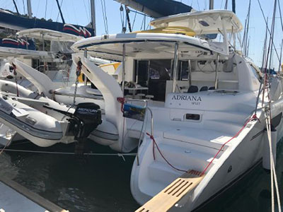 Used Sail Catamarans for Sale 2012 Leopard 46