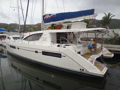 Used Sail Catamarans for Sale 2013 Leopard 48