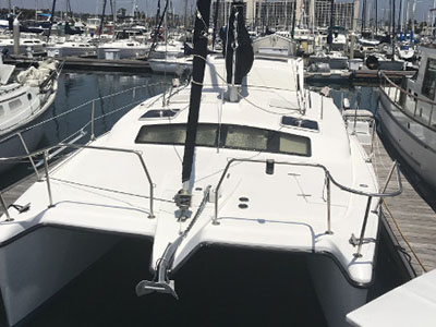 Used Sail Catamarans for Sale 2000 Gemini 105M