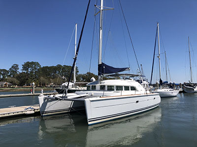 Catamaran for Sale Lagoon 380  in Savannah Georgia (GA)  SOUTHERN BREEZE  Preowned Sail